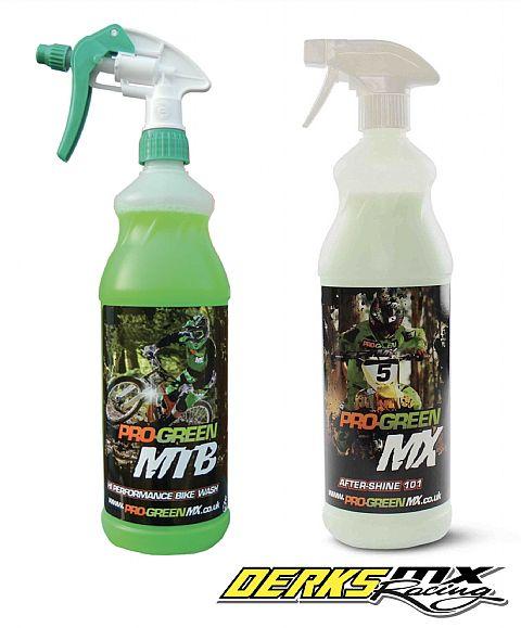 Pro Green schoonmaak middelen